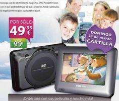 Llévate el DVD Portátil Prixton que te ofrece El Mundo por sólo 49,95 euros... ¡Infórmate en http://ofertasdeprensa.offertazo.com/llevate-el-dvd-portatil-que-te-ofrece-el-mundo/ !