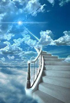 Himmelsleiter Stairway to heaven en el cielo Heaven Images, Heaven Pictures, Jesus Pictures, Images Ciel, Image Jesus, Stairs To Heaven, Stairway To Heaven Tattoo, Heaven Tattoos, Art Visionnaire