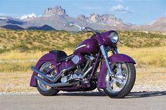 The new purple 2012 Harley-Davidson Fat Boy Bike weight is Kg and seat height 616 MM Harley Davidson Fatboy, Harley Davidson Motorcycles, Harley Fatboy, Hd Fatboy, Purple Motorcycle, Harley Bikes, Custom Harleys, Biker Chick, My Ride