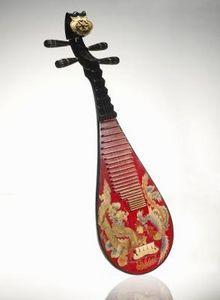 Pipa  - ancient Chinese stringed instrument