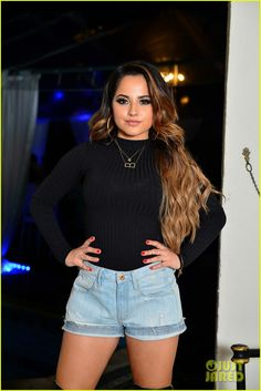Becky G Raps At 'A Night With Becky G' Event In Miami: Photo #907862. Becky G runs into Demi Lovato backstage at Y100's Jingle Ball 2015 held at BB&T Center on Friday night (December 18) in Sunrise, Fla.    The 18-year-old rapper…