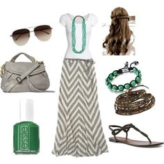 summer outfits pinterest | source: polyvore.com via Accessory on Pinterest