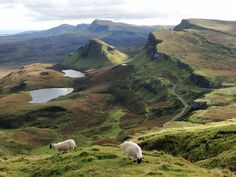 wildforestelf:The Quiraing, Isle of Skye by QuidamCress on Flickr.