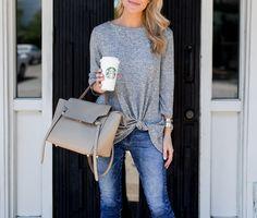 effortless twist knot sweater