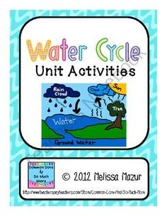 This document contains 14 activities you can use to enhance your unit on the Water Cycle.  Each page contains a reading passage with questions, an activity, or an investigation that you can use for a grade.
