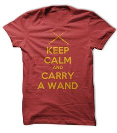 Keep Calm and ✓ Carry A Wand TeeKeep Calm and Carry A Wand. Any wizard fan will appreciate the humor and Keep Calm theme.harry, wizard, wand