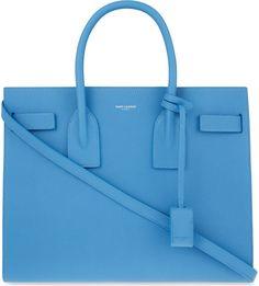 Saint Laurent sac de jour in bleu clair
