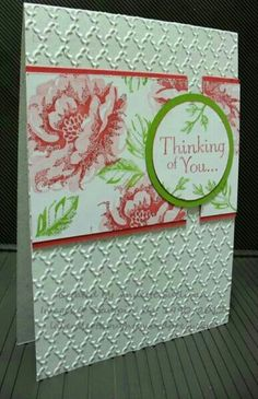 Spring project featuring Stampin' Up! Stippled Blossoms stamp set #StampinUp