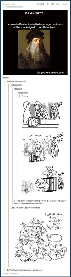 I see you assassin's creed... (Leonardo and Ezio)