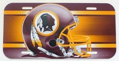 "NFL Washington Redskins 6"" x 12"" Styrene Plastic License Plate by Tromic Gifts. $9.47. NFL officially licensed product. Excellent gift for the fanatic. 6"" x 12"" Standard size license plate. Durable, weatherproof styrene plastic. Officially licensed license plate. Uniquely shaped durable styrene plates with die cut mounting hole(s). These plates work well as replacement because they are the standard license plate size and are nearly indestructible in normal use, and can be ..."