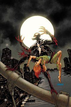 AMAZING SPIDER-MAN #25 by Dave Johnson