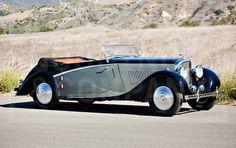 1936 Bentley 4¼ Litre Cabriolet