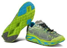 A light, max-cushion road-trail hybrid: HOKA ONE ONE Huaka (Editor's Choice, Fall 2014)