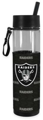 NFL Oakland Raiders 24 oz. Slim Water Bottle Tumbler