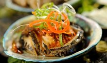 Robert Oliver The beautiful blue green flashes of the paua shell evoke the natural beauty of New Zealand's oceans, so this presentation is sure to impress. This recipe is good with eithe