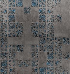 great wallpaper mural IMPRINTING by Wall & Deco Italy. Vinyl Wallpaper, Striped Wallpaper, Textures Murales, Tiles Texture, Contemporary Wallpaper, Bathroom Wall Decor, Morrocan Bathroom, Wall Cladding, 3d Max