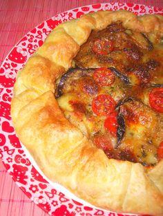 Sfoglia Salata con Melanzane e Doppia Mozzarella. <3