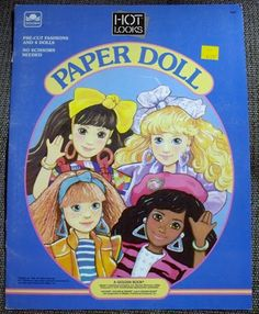 Paper Dolls could keep me busy all day when I was little