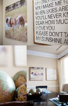Decorating with Pictures at Chubby Cheek Photography