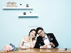 Korea Pre-Wedding Photoshoot - WeddingRitz.com » 'Owol Studio' Natural Style of Photoshoot Korea Pre-Wedding Photos