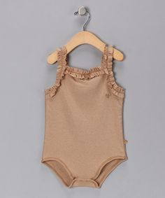 Take a look at this Wheat Organic Bodysuit - Infant by B nature on #zulily today!