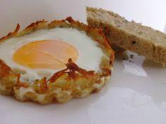 Hash Brown Breakfast Cups | Pink Recipe Box