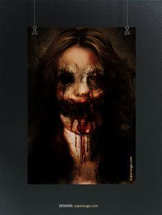 Halloween Face Makeup, Artwork, Work Of Art