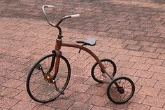 Tricycle, Retro, Vintage, Leketøy