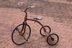 Tricycle, Retro, Vintage, Leketøy