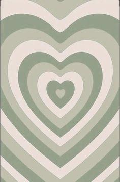 green heart wallpaper