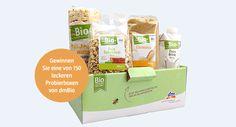 150 Tester für Probierboxen von dmBio Box, Foods, Boxes