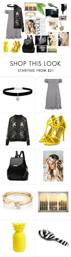 """Bg"" by ali-0 on Polyvore featuring мода, Betsey Johnson, Emily Rose Flower Crowns, Loren Stewart, Sunnylife, Rock & Ruddle и Anya Hindmarch"