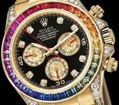 da325f7436e8 love the colours here Master Horologer  ROLEX Oyster Perpetual COSMOGRAPH  DAYTONA Ref 116598 RBOW –