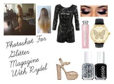 """Photoshot For Glitter Magazine With Rydel"" by jelenar5 ❤ liked on Polyvore featuring mode, Miss Selfridge, Essie, Betsey Johnson, Christian Dior, Steve Madden, women's clothing, women's fashion, women et female"