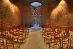 Arquitetos norte-americanos elegem 22 prédios mais lindos do mundo | HypeScience                                                A capela MIT em Cambridge, Massachusetts