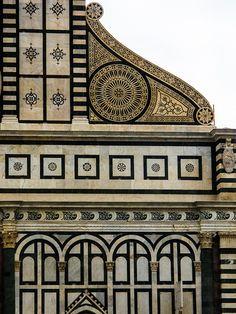 Basilica of Santa Maria Novella, Firenze A close up of the exquisite details