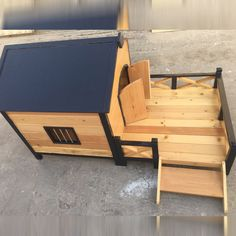 Mister Pet offers you the best Dog House With Porch Deck in Dubai, UAE & otherBest Outdoor Dog Houses with good quality wooden & flooring.