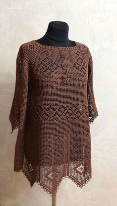 34 Ideas knitting patterns ladies crocheted hats for 2019 Cotton Crochet, Crochet Baby, Knit Crochet, Knitting Paterns, Crochet Patterns, Crochet Bathing Suits, Crochet Blouse, Filet Crochet, Crochet Fashion