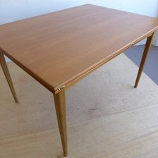 Dux of Sweden Folding/Extending Dining Table