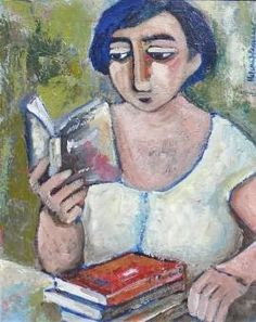 Helena Wagenaar Helena Wagenaar helena grew up on a farm outside Paarl, in the wes. People Reading, Book People, Reading Art, Woman Reading, Reading Books, Books To Read For Women, Ecole Art, Lectures, Les Oeuvres