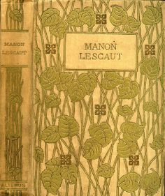 Prevost | Manon Lescault | Altemus, 1899  LOve the geometric square flowers strategically, symmetrically but unpredictably spaced