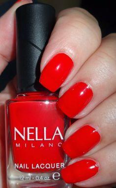 Wendy's Delights: Nella Milano Nail Lacquer The Rubinator @Nella_Milano  20% discount code 'wendyspecial'