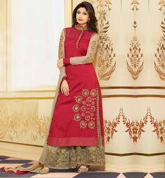 #CELEBRITY STYLE FASHION APPAREL MAROON #SALWARSUIT FROM TOP FASHION #DESIGNER INDIA DESIGNED DRESS