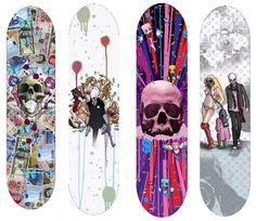 M.Shinoda.  Glorious Excess Dies Boards
