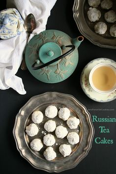 Russian Tea Cakes from JensFavoriteCookies.com  - a traditional cookie in many families.