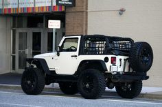 White 2-door JK's w/ 35's post pics - Page 3