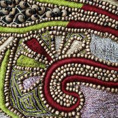 India, Gujarat, embroidered Silk blend tunic, choli top, 20th c