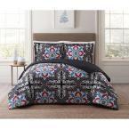 Sheffield Blue Twin XL Comforter Set, Multi-Colored