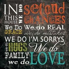 We do Second Chances