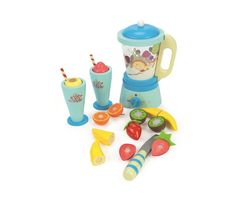 Blend your way to 5 a day with the Le Toy Van Blender Set 'Fruit and Smooth'. Wooden toy blender set complete with play food fruits. Kids Role Play, Pretend Play, Baby Toys, Kids Toys, Toy Kitchen Accessories, Clothing Accessories, Van Kitchen, Smoothie Mixer, Fruit Blender